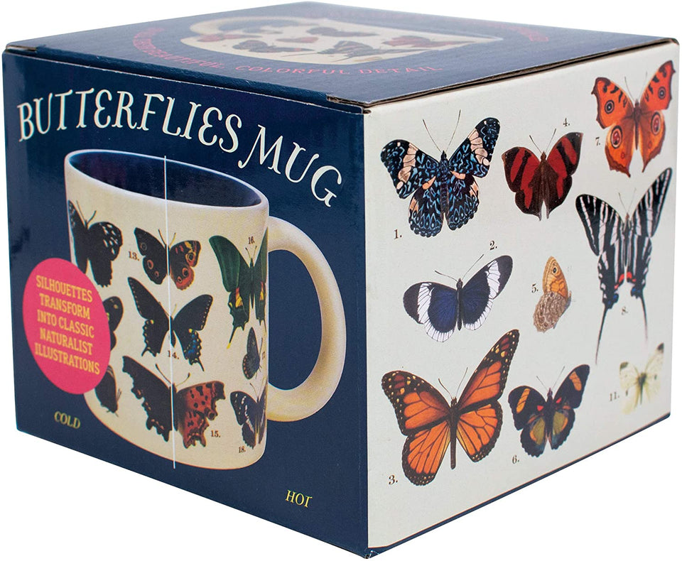 Re-Appearing Butterfly Mug