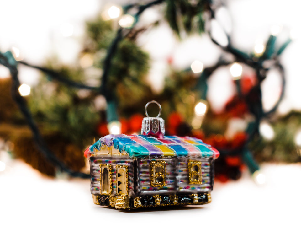 Philbrook Cabin Ornament
