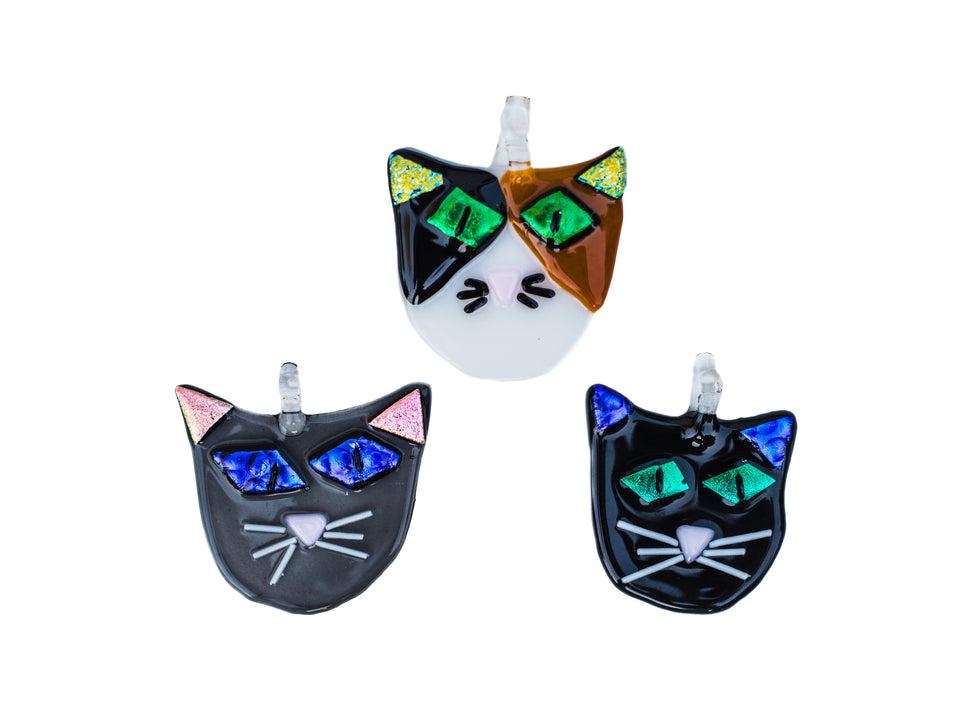 Garden Cat Ornaments