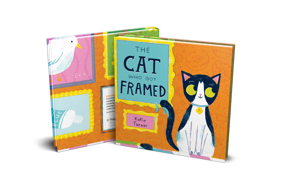 THE CAT WHO GOT FRAMED by Katie Turner