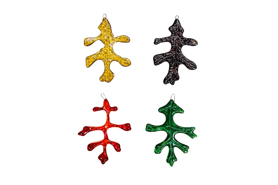 Oak Leaf Ornaments