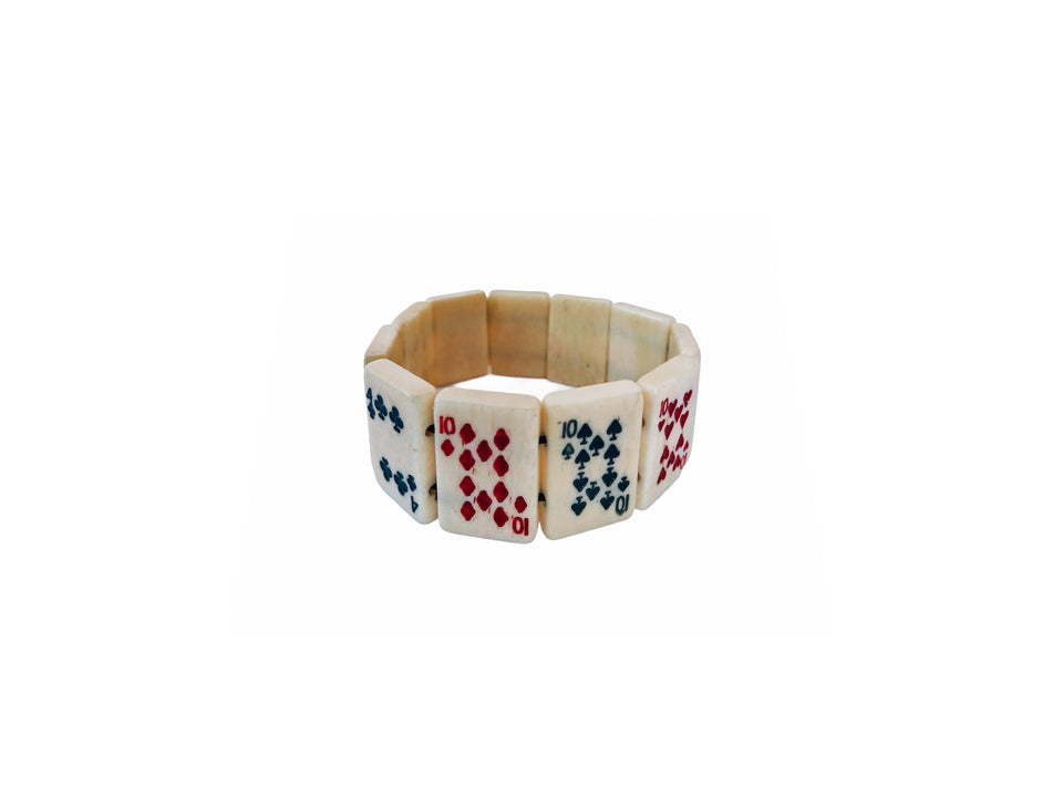 Playing Card & Mahjong Bracelet