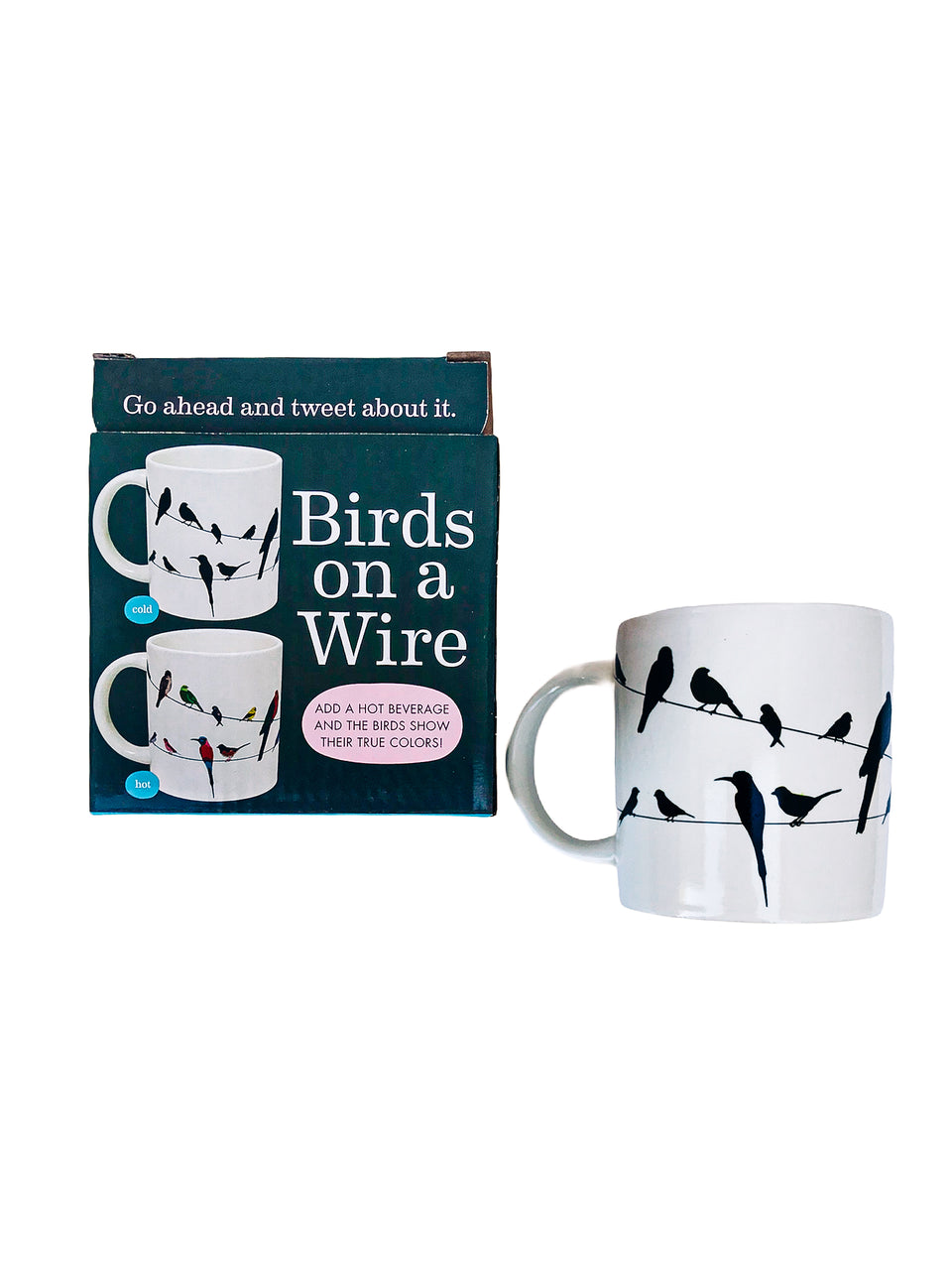 Re-appearing Bird Mug