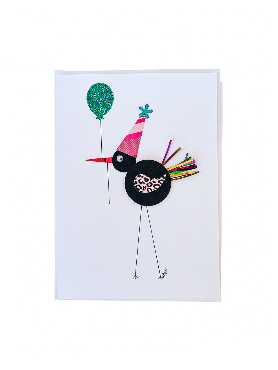 Bird Birthday Note Card