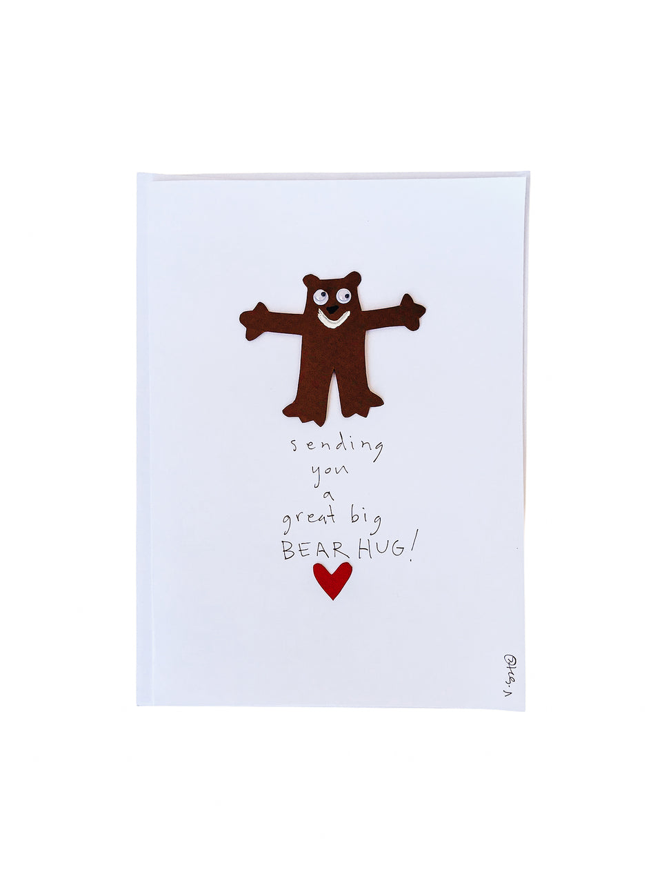Bear Hug Note Card