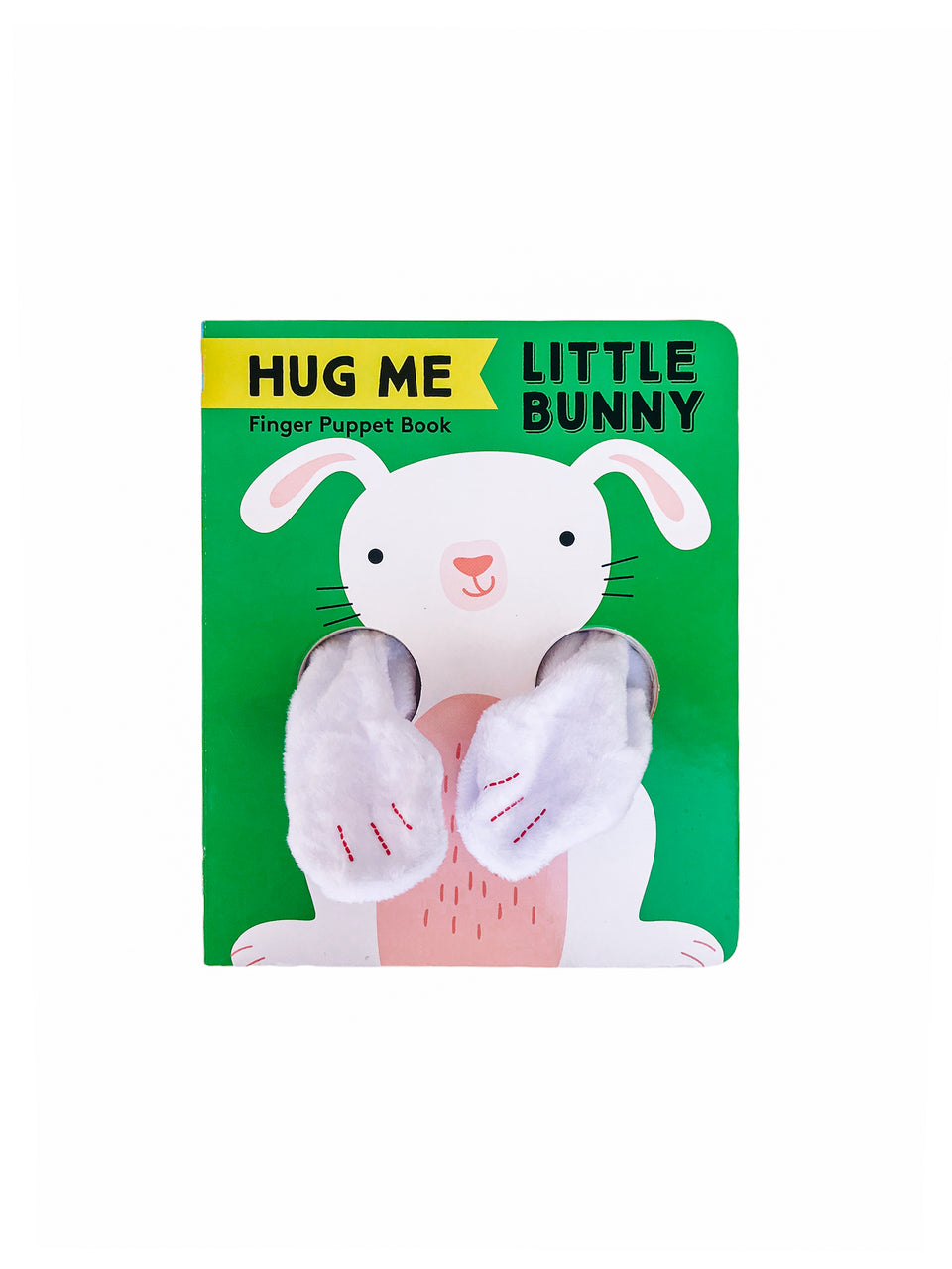 Hug Me Little Bunny Puppet Book