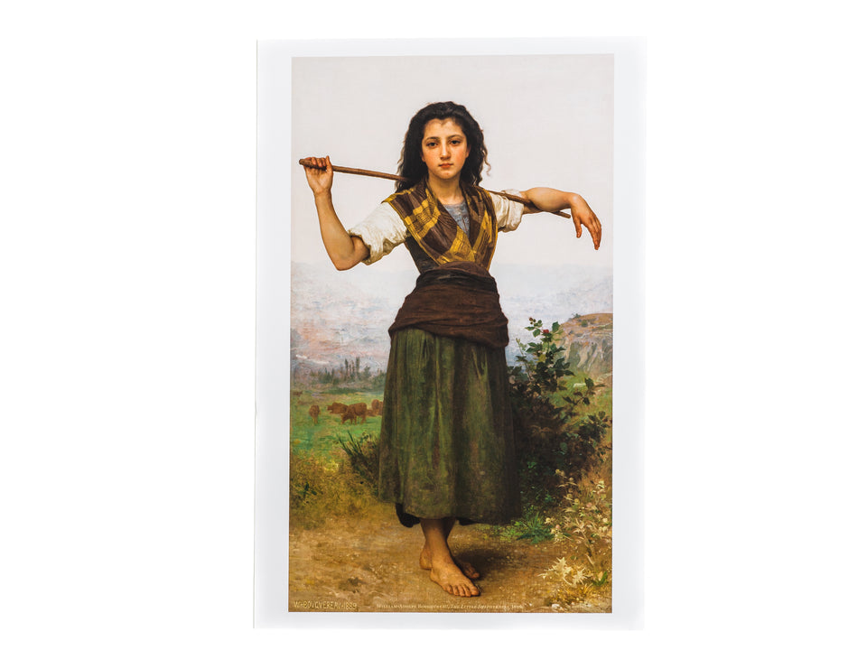 The Little Shepherdess  Print