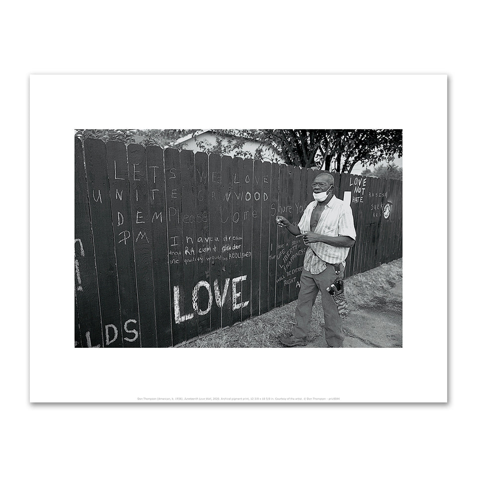 Love Wall Postcard