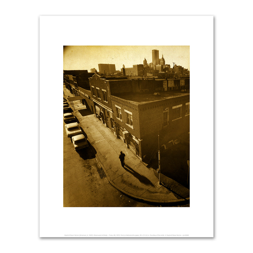 Untitled, Greenwood Avenue Print