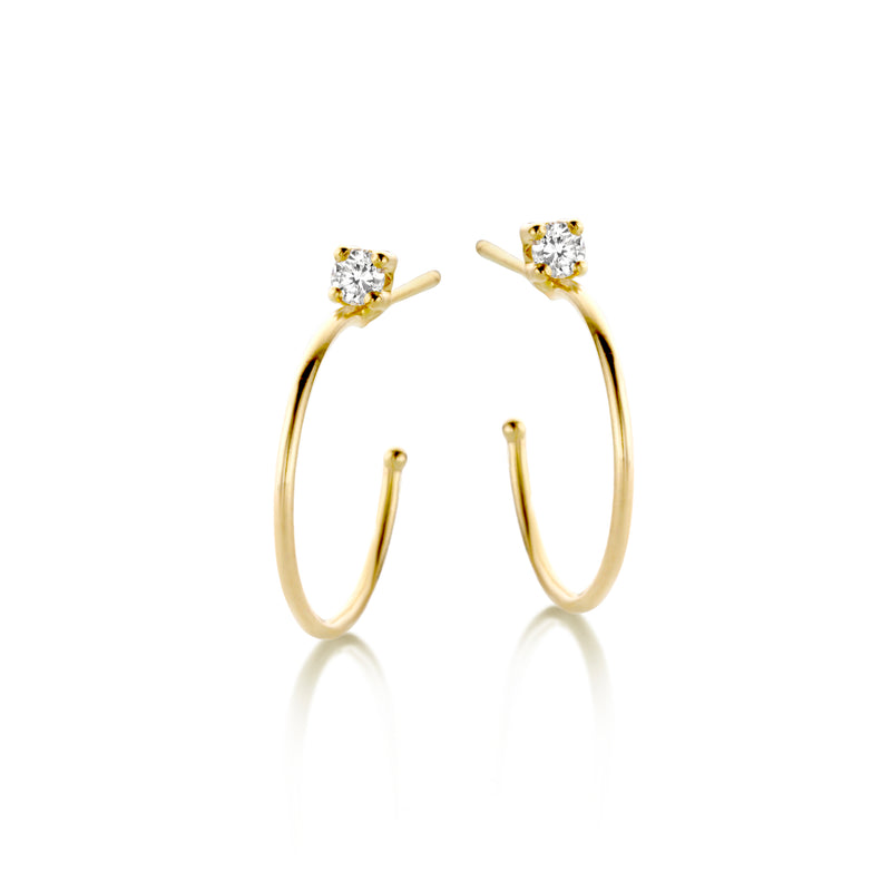 Flawless Maxi Hoops