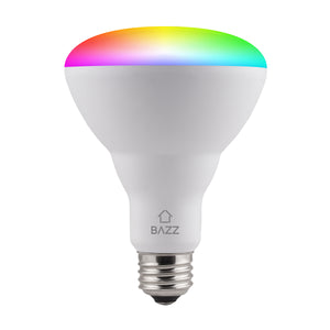 BR30 Smart WiFi RGB LED Bulb (4-Pack) - BAZZ Smart Home.ca