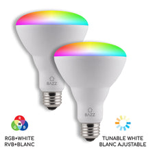 Load image into Gallery viewer, BR30 Smart WiFi RGB LED Bulb - BAZZ Smart Home.ca