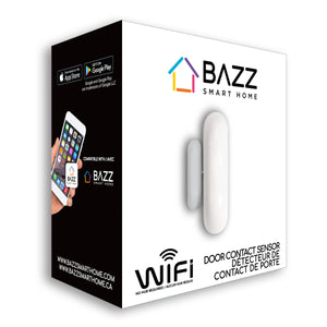 Smart WiFi Door Contact Sensor - BAZZ Smart Home.ca
