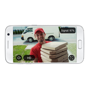Smart WiFi Video Doorbell with HD 1080p Camera - BAZZ Smart Home.ca