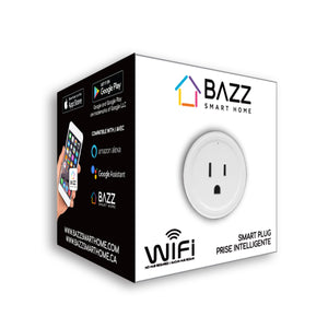 Smart Wi-Fi Plug (4-Pack) - BAZZ Smart Home.ca
