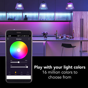 "6"" Smart WiFi RGB+White LED Conversion Kit - BAZZ Smart Home.ca"