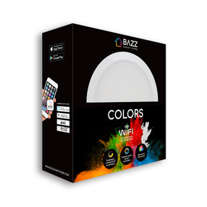 "COLORS : tune your whites, play with colors - Smart WiFi 6"" LED Recessed Light Fixture"