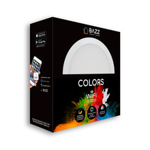 "Load image into Gallery viewer, 6"" Smart WiFi RGB+White LED Recessed Light Fixture - BAZZ Smart Home.ca"