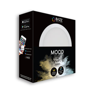 "6"" Smart WiFi White LED Recessed Light Fixture - BAZZ Smart Home.ca"