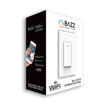 Load image into Gallery viewer, Smart WiFi Wall Switch - BAZZ Smart Home.ca