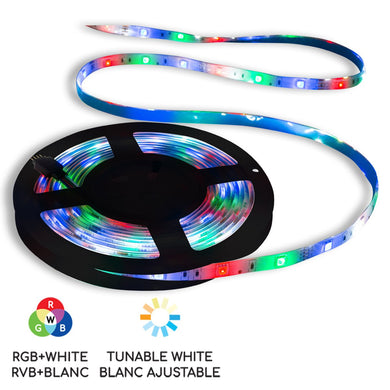 10 ft. Smart WiFi RGB LED Light Strip - BAZZ Smart Home.ca