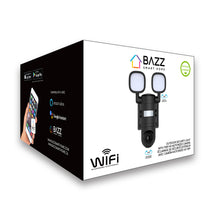 Load image into Gallery viewer, Smart WiFi Outdoor Security Light with HD 720p Camera - BAZZ Smart Home.ca