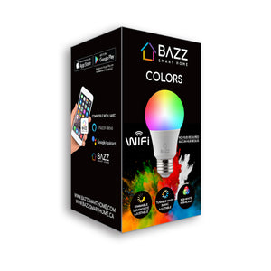 A19 Smart Wi-Fi RGB LED Bulb (2-Pack) - BAZZ Smart Home.ca