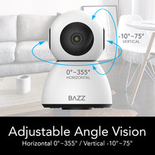 Load image into Gallery viewer, Smart WiFi HD 1080p Motorized Camera - BAZZ Smart Home.ca
