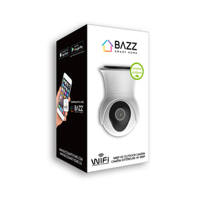 Smart WiFi HD 1080p Motorized Outdoor Camera - BAZZ Smart Home.ca