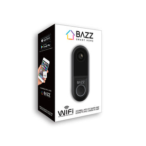 Smart WiFi Doorbell with HD 1080p Camera