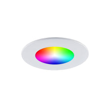 "Load image into Gallery viewer, 4"" Smart Wi-Fi RGB LED Recessed Light Fixture (4-Pack) - BAZZ Smart Home.ca"