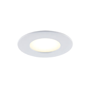 "4"" Smart Wifi RGB LED Recessed Light Fixture - White - BAZZ Smart Home.ca"