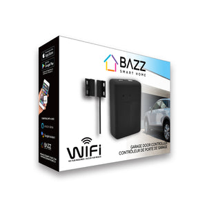 Smart WiFi Garage Door Controller - BAZZ Smart Home.ca