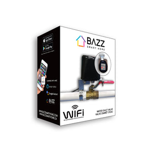 Smart WiFi Water Shutter Valve - BAZZ Smart Home.ca
