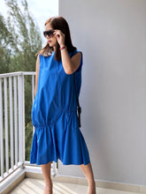 Load image into Gallery viewer, Hay Sleeveless Loose Ruched Dress