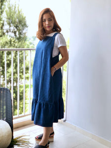 Denly Denim Pinafore