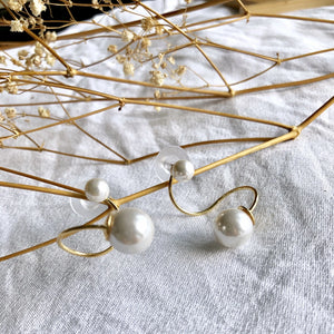 Nali Twisted Pearl Earstuds