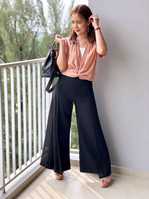 Laggy Meshy Wide Pant