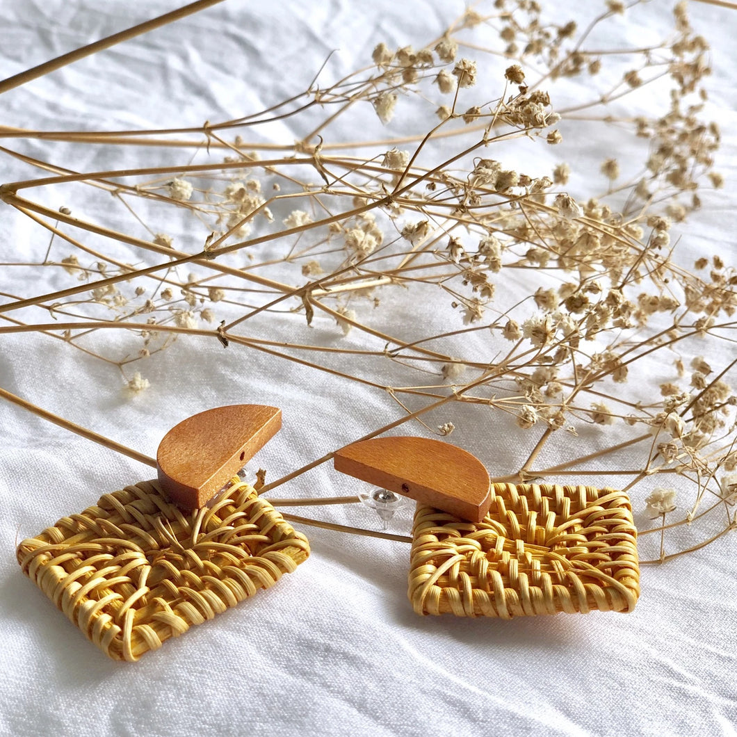 Wengy Woven Earrings