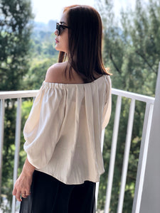 Sella Basic Off Shoulder Top