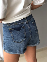 Load image into Gallery viewer, Rally Denim Cutty Short