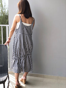 Daisy Checked Dress