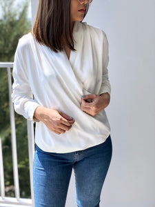 Velen V-Neck Wrap Top