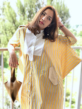 Load image into Gallery viewer, Ayla Asymmetrical Stripy Dress