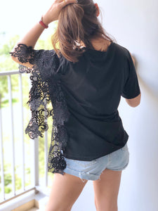 Ailn Sided Lace Top