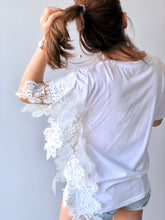 Load image into Gallery viewer, Ailn Sided Lace Top