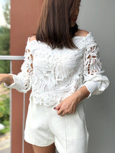 Load image into Gallery viewer, Levi Off-Shoulder Lace Top