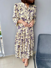 Load image into Gallery viewer, Heph Chiffon Printed Maxi - Cream