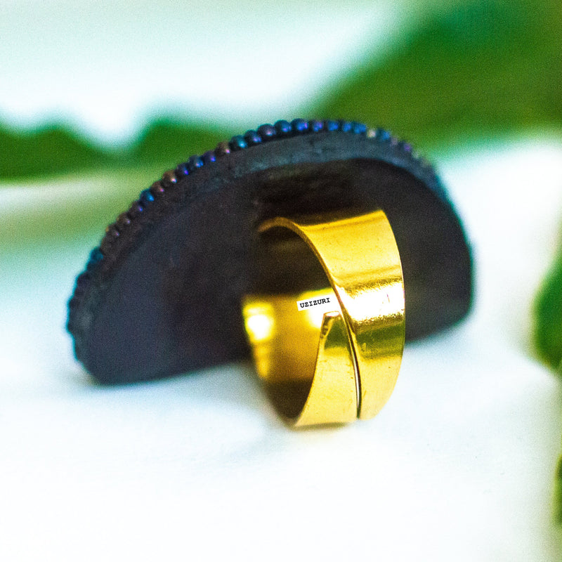 handmade brass ring