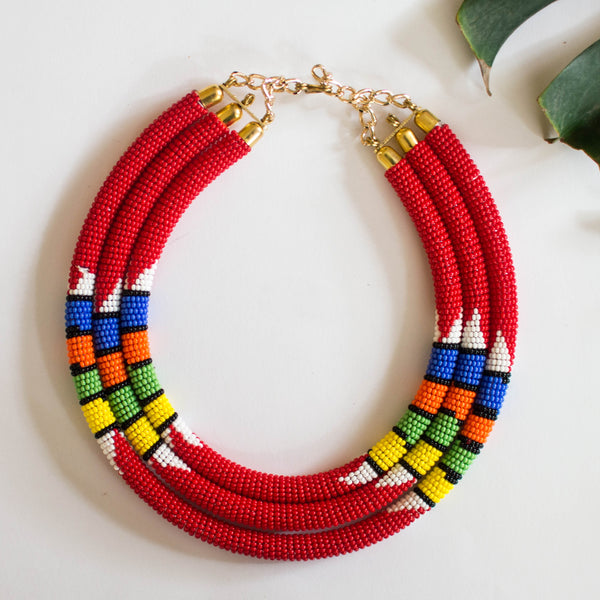 Makeba Collar Necklace